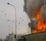اصابت 17 فروند موشک به پادگانی در موصل عراق