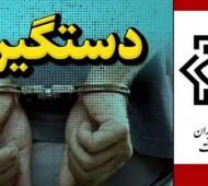 دستگیری 10 نفر از مرتبطین سرویس های جاسوسی کشورهای منطقه